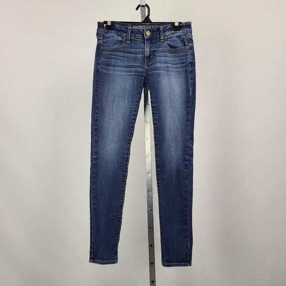 AEO Jegging Super Stretch Skinny Jeans Size 4